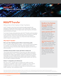HULFT Transfer - Data Sheet