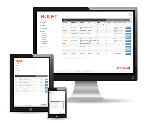 Hulft Transfer - File Transfer Solution | Influential Partners Devices