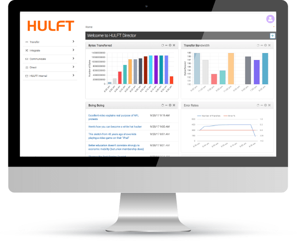 HULFT Director Data Logistics - UK Partners Influential - Product Screenshot